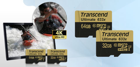 transcend ultimate 633x 64 go